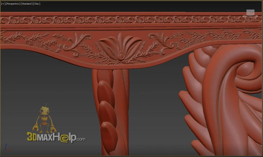 polydetail ornament plugin for 3dsmax 3d model max