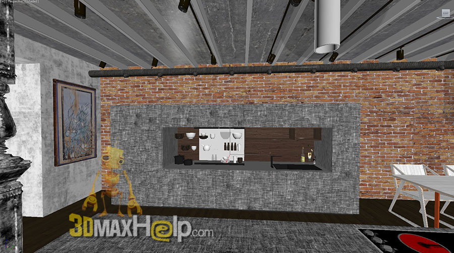 0008 003 Kitchen 3DMaxHelp